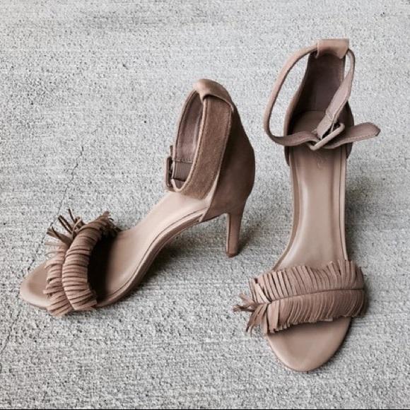 c5070c020bcd Joie Shoes - Joie Buff Pippi Suede Fringe Sandals
